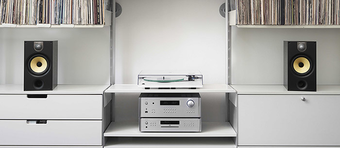 Rotel Stack with Bowers & Wilkins 686 Speakers