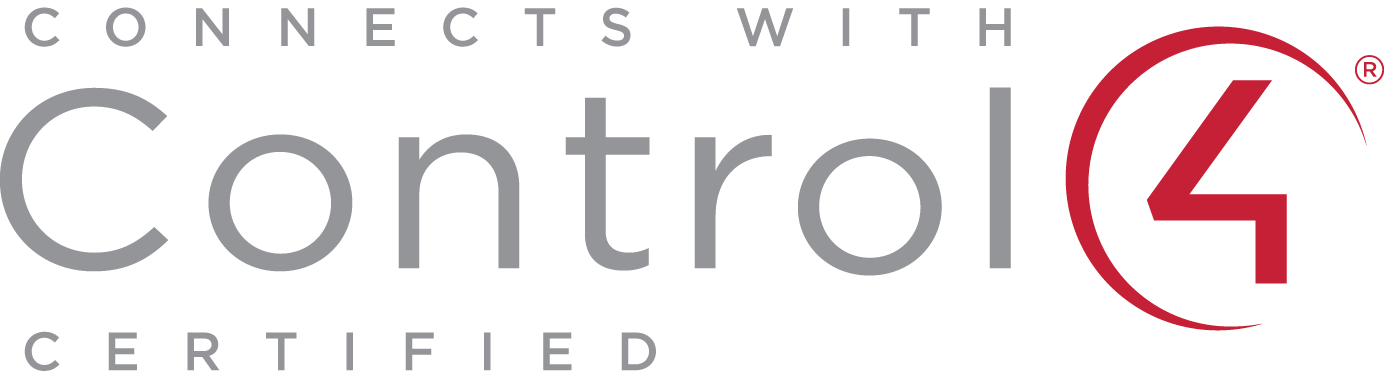 Connects with Control4 Certified