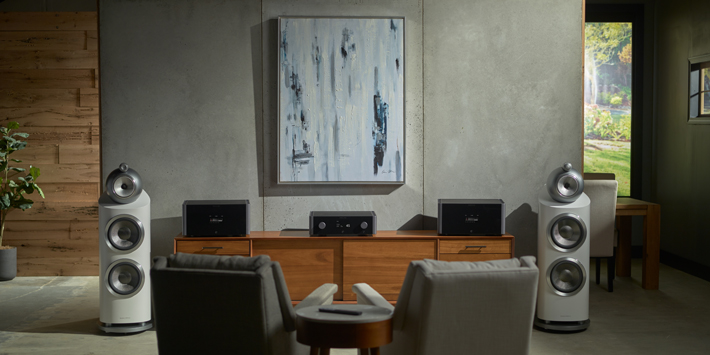 P5 and M8 Amplifiers Lifestyle Image