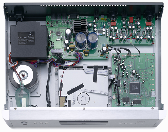 RCD-1570 Internal View