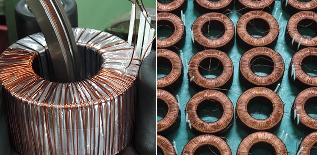 Toroidal Transformer Manufacturing process